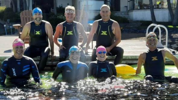 Nova Scotia swim participants