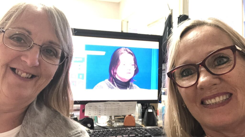 United Way Pictou County staff watch United by Song together